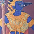 Wall painting at Grand Palace — Stock Photo