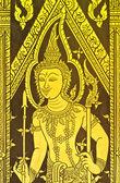 Tradycyjny tajski sztuki — Zdjęcie stockowe