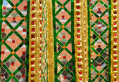 Thai style Decorative wall — Стоковое фото