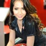 ������, ������: Female presenter of the Ducati