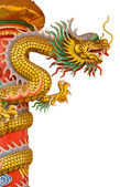 Chinese style dragon — Stock Photo