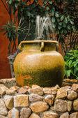 Vintage fountain — Stock Photo