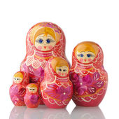 Matryoshka - A Russian Nested Dolls — Stock Photo