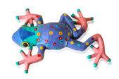 Paper Mache Frog — Stock Photo