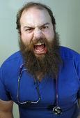 Scary Nurse — Stock Photo
