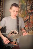 Punk de guitarra — Fotografia Stock