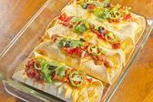 Enchilada Casserole — Stock Photo
