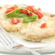 Schnitzel with Butter Sauce — Stock Photo #51362077