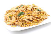 Chinese Chicken Lo Mein — Stock Photo