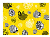 Shell of a snail — Stock Vector
