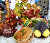 Ukrainian kitchen — Stock Photo
