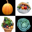 Vegetables collage — Stock Photo #22509329