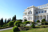 Livadia Palace Crimea, Ukraine summer retreat of the last Russian tsar, Nicholas II Built in 1911 by architect N P Krasnov — Stock Photo