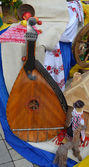 Musical instrument bandoura cobza — Stock Photo