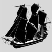Ship — Stock Vector