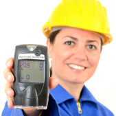 Multi-gas detector, a device for measuring the concentration of — Stock Photo