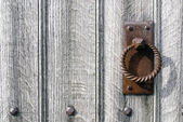 An old door handle — Stock Photo