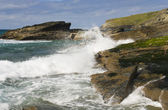 Cornwall coastline — Stockfoto