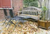Garden furniture — Stockfoto
