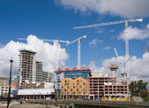 Building site. Ipswich Waterfront, Suffolk, United Kingdom. — Stock Photo