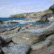 Stock Photo: North Cornwall coastline