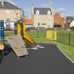 Residential area playground — Stock Photo #13531273