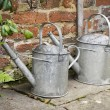 Royalty-Free Stock Photo: Watering cans