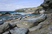 North Cornwall coastline — Foto de Stock