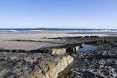 Northumberland coastline — Stock Photo
