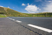 Mountain road in Wales — Stock Photo