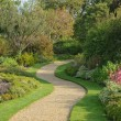 Serpentine garden path — Foto Stock