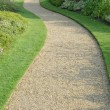 English garden gravel path — Stock Photo #24383509