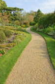 Gravel path in English park — Stock Photo