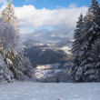 Ski center Mlynky - Slovak paradise, Slovakia — Stock Photo