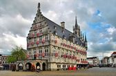 Town Hall in Gouda — Stock Photo