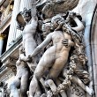 Stock Photo: Sculptures on facade of Grand Opera