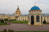 Temple at St. Nicholas Monastery near Moscow — Stock Photo
