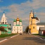 Ancient Russian city of Kolomna — Stock Photo