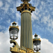 Stock Photo: Paris lantern