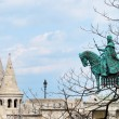 A view of the Fisherman's Bastion in Budapest — Stock Photo #16048175