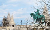 A view of the Fisherman's Bastion in Budapest — Stock Photo
