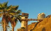 Beach in Netanya in Israel — Stock Photo