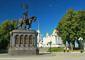 "Monument to Prince Vladimir ""Red Sun"" in Vladimir — Stock Photo"