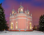 Cesme Church in St. Petersburg — Stock Photo
