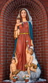 Sculpture of Our Lady — Stock Photo