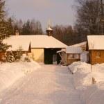 Winter in Svyatogorsk Monastery — Stock Photo