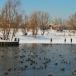 Early Spring in Tsaritsyno - Stock Photo