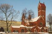 Catholic Church of St. Simon and St. Helena — Stock Photo