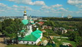 Ancient Russian city of Vladimir — Stock Photo