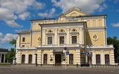 The theater building in Minsk — Stock Photo